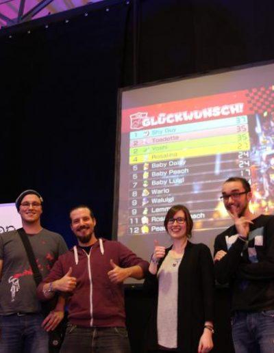 Mario Kart Turnier Teilnehmende