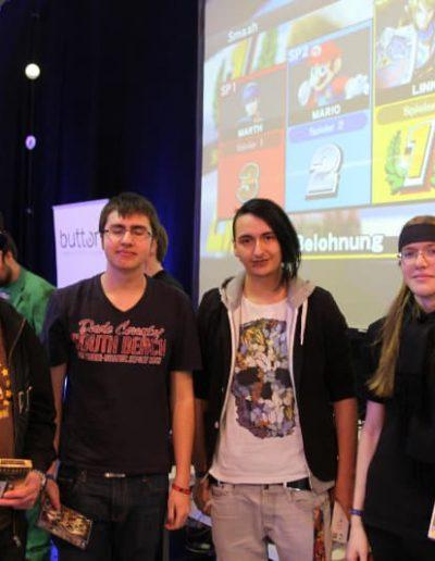 Super Smash Turnier 4 Teilnehmende
