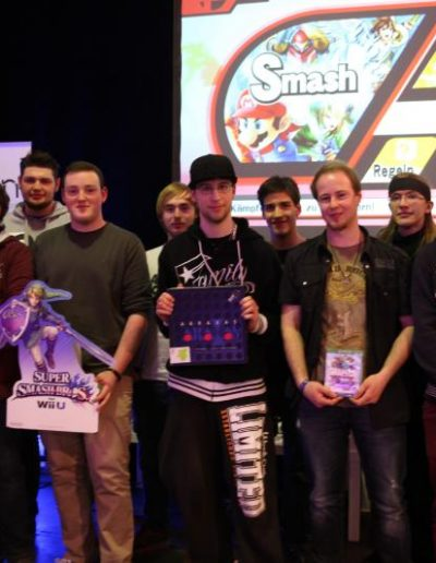 Super Smash Turnier Teilnehmende
